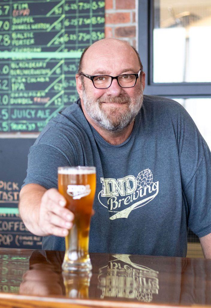 Joe Slykerman of Kind Brewing in West Kelowna, BC