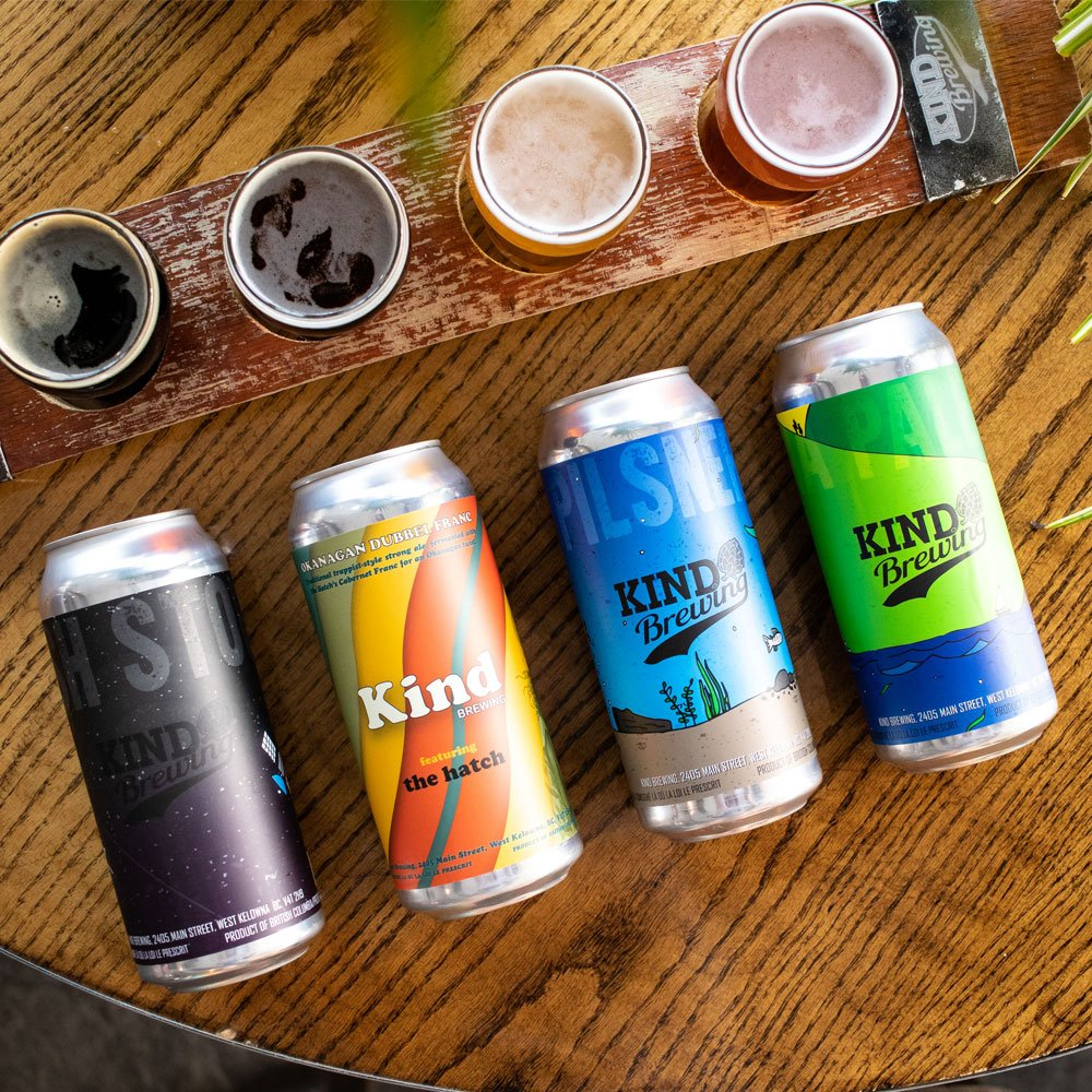 Kind Brewing in West Kelowna BC   Craft & Compass